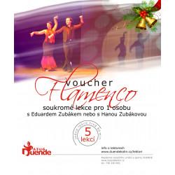 Flamenco pro 1 osobu 5 lekcí