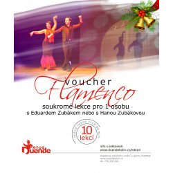 Flamenco pro 1 osobu 10 lekcí