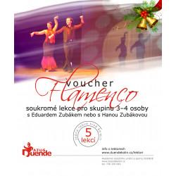 Flamenco pro 3 až 4 osoby 5...